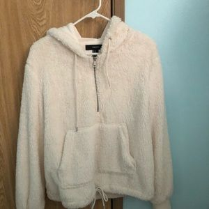 Fluffy Quarter Zip Jacket